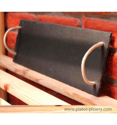 Bandejas asas cuerda 40x25 cm